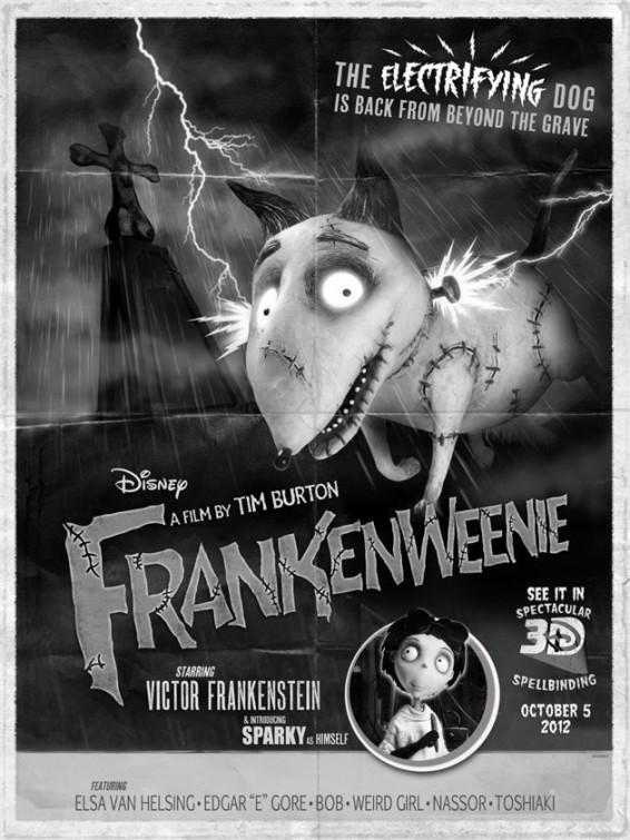 Frankenweenie La Kinopitheque